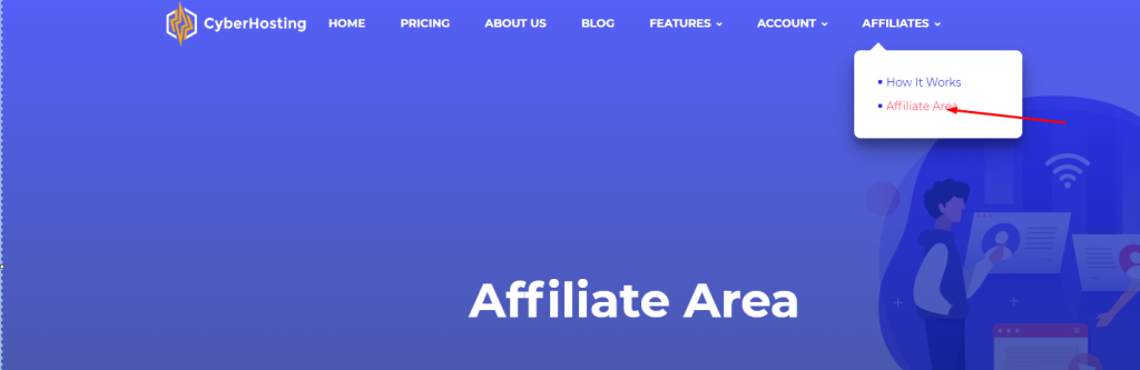 CyberHosting Affiliate Program