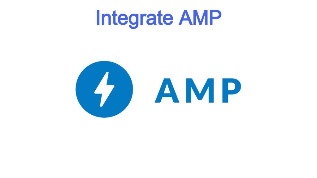 Integrate AMP