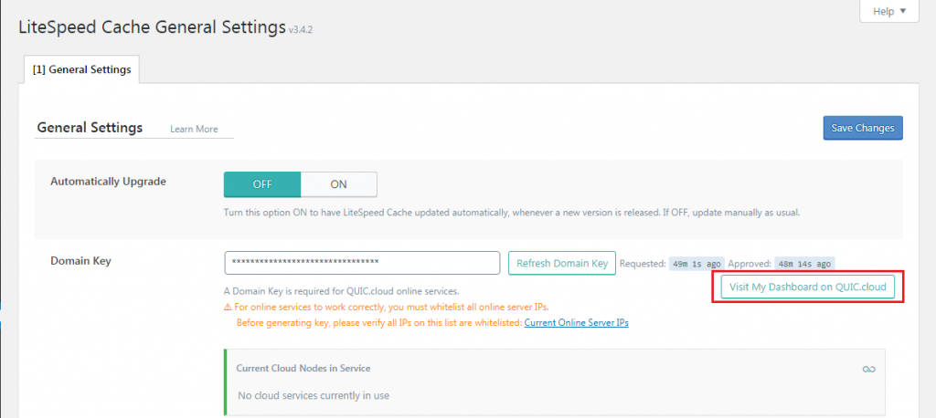 link account cloudpages